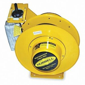 Hubbell Wiring Systems Hbl501032w Weatherproof Cable Reel With Wire Lead 10 3 S