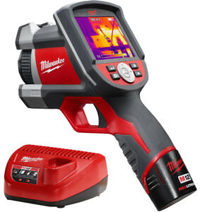 Milwaukee 2260 21 M12 160x120 Thermal Imager Kit New
