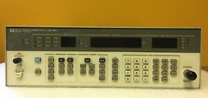 Hp Agilent 8657a 001 100 Khz To 1040 Mhz Signal Generator parts repair