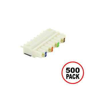 110 Connecting Block 4 Pair Idc Terminal 500 Pack