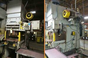 150 Ton Standard Hydraulic C Frame Punch Press 34 X 24 Forming Punch 2007