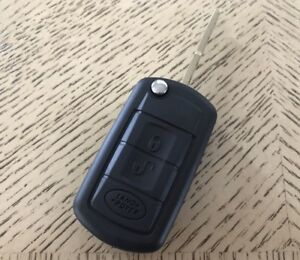 Keyless Remote Key Shell Case Land Rover Lr3 Range Sport Discovery 3 Buttons