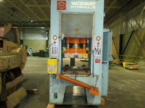 110 Ton Waterbury Farrel Hydraulic Punch Press Straight Side 25 X 22 Bed