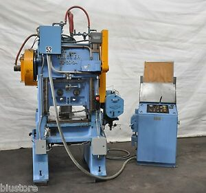 20 Ton Minster Punch Press Straight Side Double Crank 1 25 Stroke 250 600spm