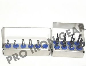 Dental Implant Tissue Punch Drills 2 Kit 13pcs Set Surgical Surgery