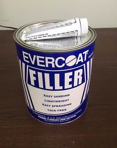Evercoat Tack Free Lightweight Autobody Filler 141 Easy Sanding Doesn t Clog