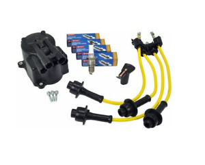 4y Engine Ignition Tune Up Kit Toyota Forklift Rotor Distributor Cap Wire