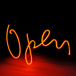 New Led Neon Light Sign Open For Beer Bar Shop Store Windows Game Room 7 9x 9 8