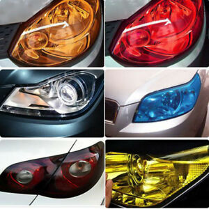 Colorful Glossy Car Tail Light Fog Headlight Tint Film Wrap Film 2m 3m 5m 10m