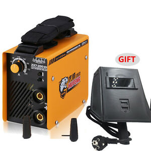 Zx7 200 Portable Mini Handheld Mma Welder Igbt Ac 220v Arc Welding Machine 200a
