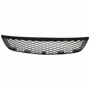 2004 2006 Mazda 3 Hatchback Bumper Grille Lower Center Black Plastic Ma1036115