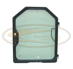 Bobcat Skid Steer Door Frame With Glass Installed 763 773 Front Enclosure Cab