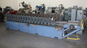 18 Stand 36 Rs 2 3 4 Shaft Asc Geared Rollforming Line Sheet Metal Former