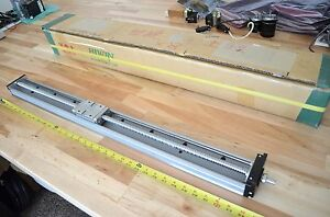 New Hiwin Kk80 X840mm Lm Linear Bearing High Precision Ballscrew Actuator Thk