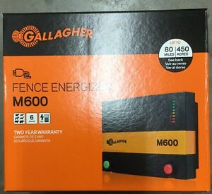 Gallagher M600 Charger