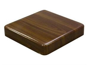 New 30x60 Super Shine Extra Thick Walnut Resin Restaurant Tabletop Furniture