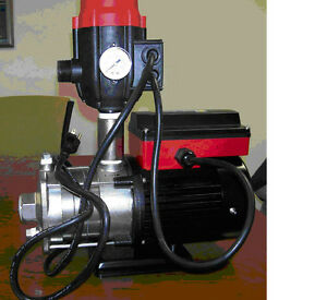 Water Landscape Booster Pump 1hp Tph q Series 6 24gpm With Auto Controller