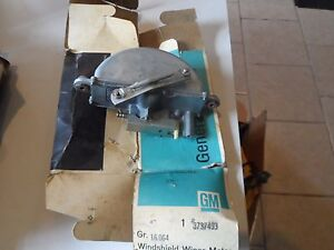 Nos 55 56 57 Chevy Truck Windshield Wiper Motor Trico 3737493 Gm Pick Up Sk