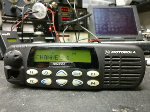 Motorola Cdm1550 Uhf 40 Watt 160 Convchannel 250 Trunk 403 470mhz Aam25rkf9dp6an