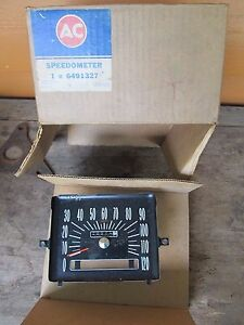 New Old Stock Gm Speedometer Gm Pn 6491327 60 s 70 s Buick Olds Chevy
