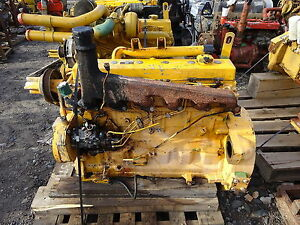John Deere 6068df Diesel Engine Runs Good 6068 df Nat Pump Loader