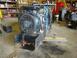 Miller Bobcat 225 Stick Welder Ac dc Runs Exc Video Onan Gas Pipeline