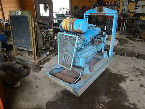 Same 1056p Diesel Engine Rare Find Runner 1056 p 6 Cylinder