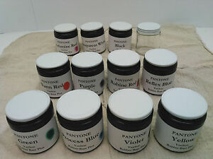 Pms Pantone Ink Kit Vanson Rubber Base For Letterpress Prinitng 3 2oz Ea Of 11