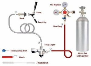 1 Tap Stella Draft Beer Kegerator Conversion Kit European Sankey S Keg Coupler