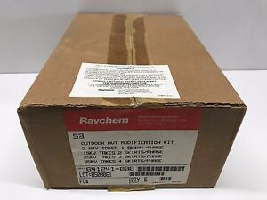 Box Of 6 New Old Stock Raychem Outdoor Hvt Modification Kits 641241 000