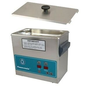 Crest Powersonic Ultrasonic Cleaner 0 75 Gallon Timer Heat P230h 45 Basket