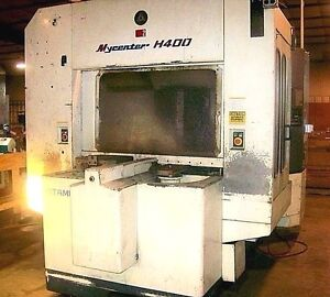 Kitamura Mycenter H400 Cnc Horizontal Mill With 4th Axis Year 1995