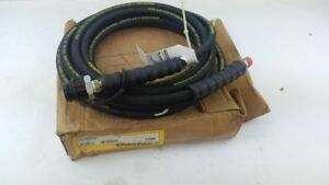 20 Ft Enerpac Rubber High Pressure Hydraulic Hose Assembly S 20 3