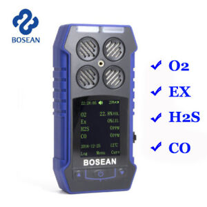 Gas Detector Ex Co O2 H2s 4 In 1 Toxic Gas Monitor Harmful Gas Meter Analyzer Us