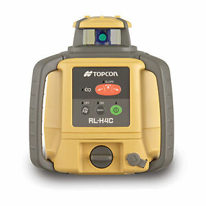 Topcon Rl h4c Long Range Rotating Laser Level With Rechargeable Battery Pack