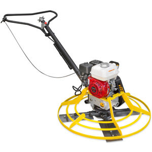 36 Honda Gx 160 Series Walk Behind Power Trowel Concrete Cement Surface Finish