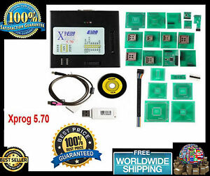 Xprog 5 70 Ecu Programmer V5 70 All Adapter Usb Dongle Latest Version Xprog