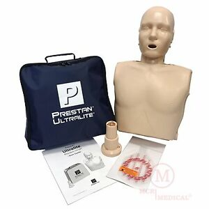 Prestan Ultralite Cpr Manikin Single Adult Pp ulm 100 ms Training Mannequin