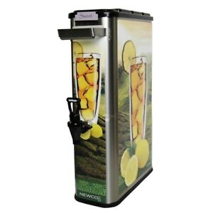 Newco 805012 3 5 Gallon Stainless Tall Tea Dispenser new Authorized Seller