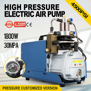 30mpa Electric Air Compressor Pump Pcp Rotating Speed Air Flow High Pressure