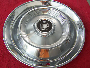 Nos 1960 Mercury Hub Cap Original Inspection Sample