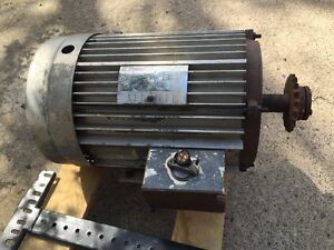 10 Hp Lincoln Electric Motor Three Phase