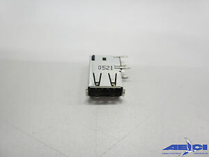Amp tyco 440260 1 Usb A Usb 2 0 Receptacle Connector 4 Position tube Of 22