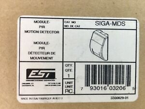 Siga mds Module Pir Motion Detector Wall Mount Edwards Systems Technology Est