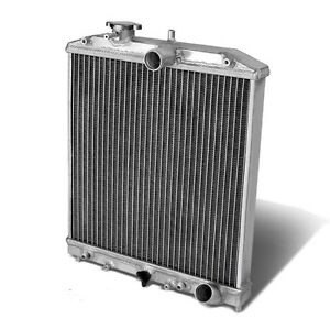 1 row Full Aluminum Racing Radiator 92 00 Honda Civic Ej ek del Sol Eg Eg6 Si