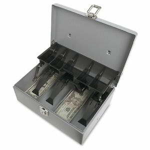 Sparco 5 compartment Tray Cash Box 1 each
