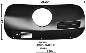 1969 70 Ford Mustang Dash Trim Cover W clock Hole Rh New Dii