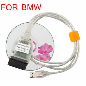 Diagnostic Tool Usb Obd2 Obdii Interface Cable Car Scanner K Dcan For Bmw Inpa