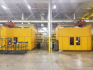 2004 Husky 3000 Ton Injection Molding Machine Modelq2700
