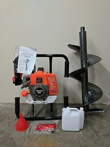 Hoc Large One Man Auger 71 Cc Free Any Size Bit Warranty Free Shipping